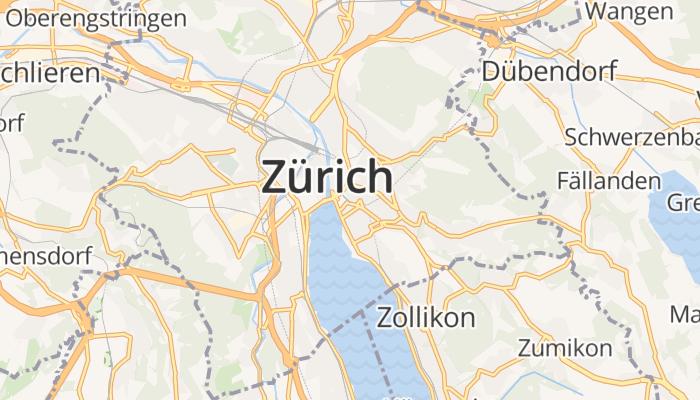 Zürich online kaart