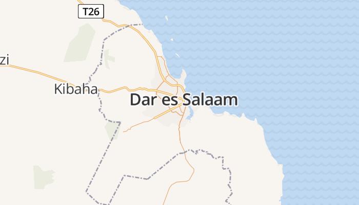 Dar es Salaam online kaart
