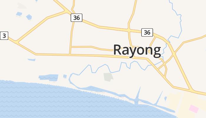 Rayong online kaart