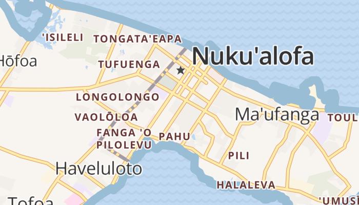 Nuku'alofa online kaart