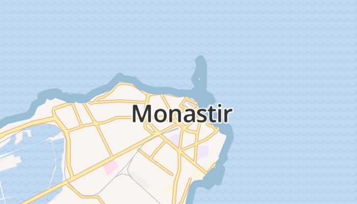Monastir online kaart