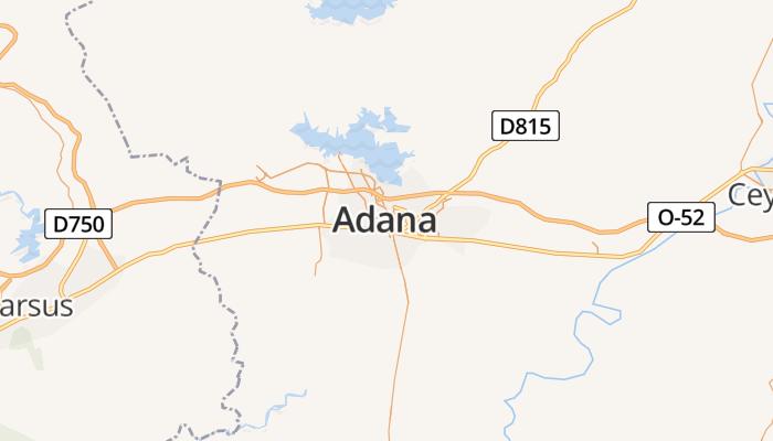 Adana online kaart