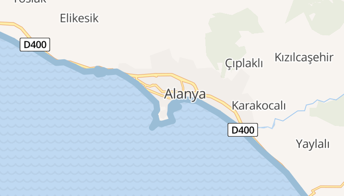 Alanya online kaart