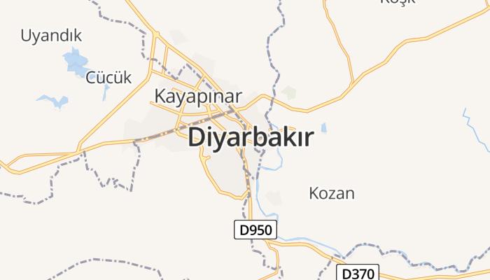 Diyarbakır online kaart