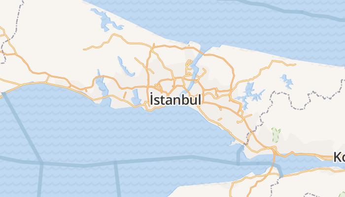 Istanbul online kaart