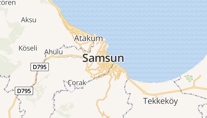 Samsun online kaart