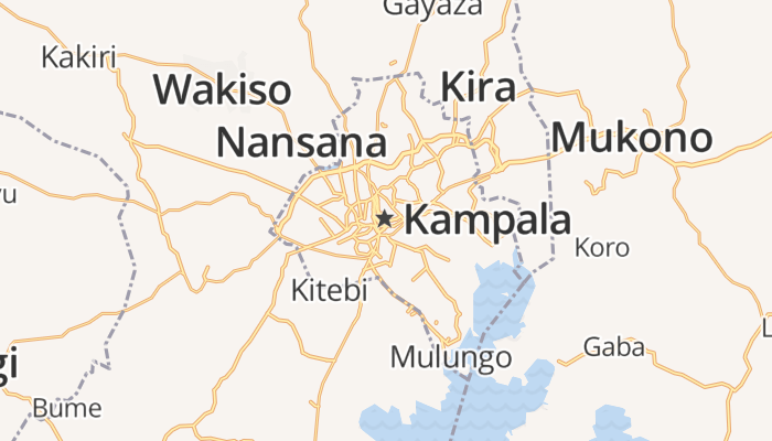Kampala online kaart