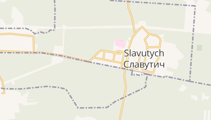 Slavoetytsj online kaart