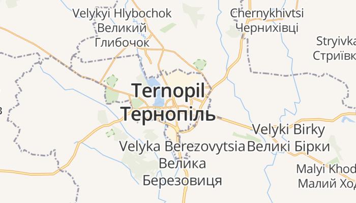 Ternopil online kaart