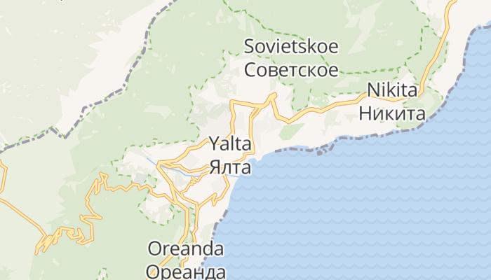 Jalta online kaart