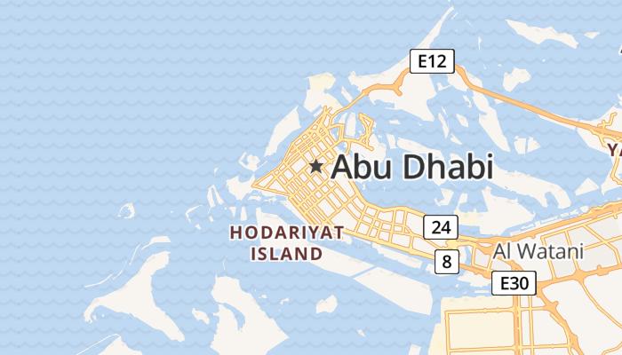 Abu Dhabi online kaart