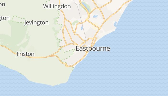 Eastbourne online kaart