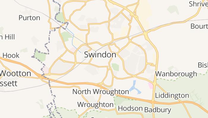 Swindon online kaart