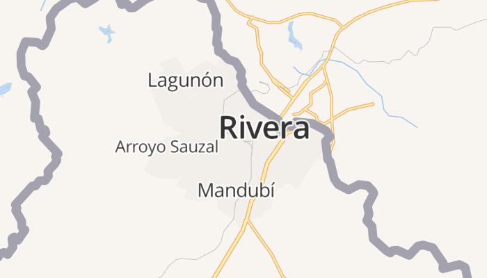 Rivera online kaart