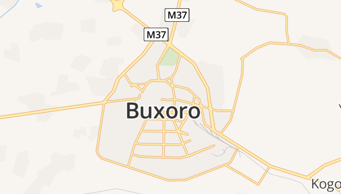 Buchara online kaart