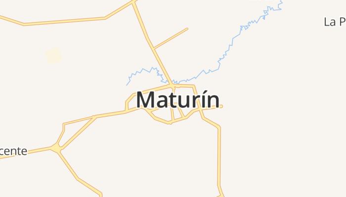 Maturín online kaart