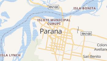 Parana - szczegółowa mapa Google