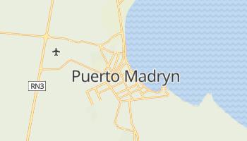 Puerto Madryn - szczegółowa mapa Google