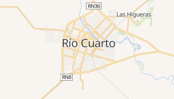 Río Cuarto - szczegółowa mapa Google