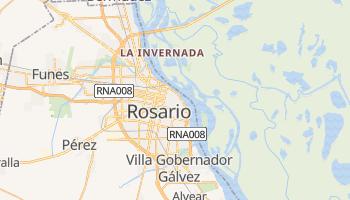 Rosario - szczegółowa mapa Google