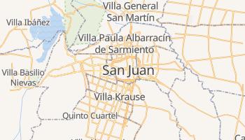 San Juan - szczegółowa mapa Google