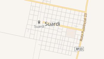 Suardi - szczegółowa mapa Google