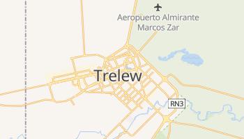 Trelew - szczegółowa mapa Google