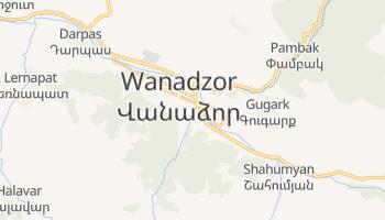 Wanadzor - szczegółowa mapa Google