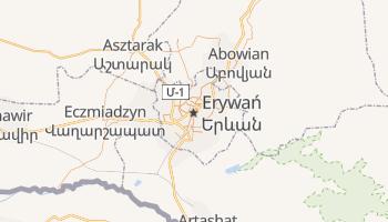 Erewan - szczegółowa mapa Google