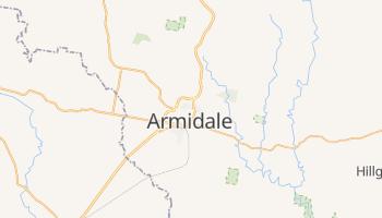Armidale - szczegółowa mapa Google