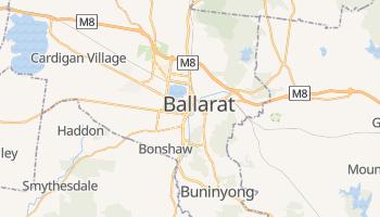 Ballarat - szczegółowa mapa Google