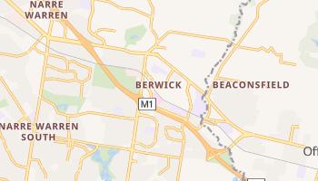 Berwick - szczegółowa mapa Google