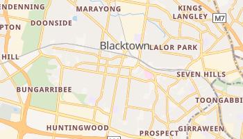 City of Blacktown - szczegółowa mapa Google