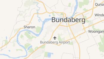 Bundaberg - szczegółowa mapa Google