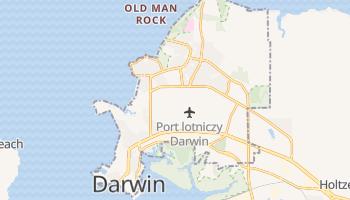 Darwin - szczegółowa mapa Google