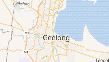 Geelong - szczegółowa mapa Google