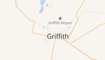 Griffith - szczegółowa mapa Google
