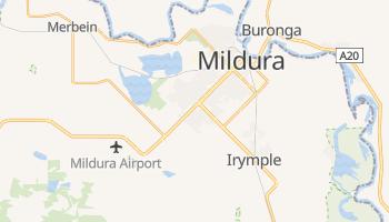 Mildura - szczegółowa mapa Google