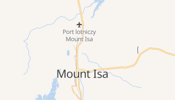 Mount Isa - szczegółowa mapa Google