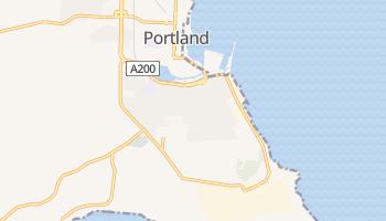 Portland - szczegółowa mapa Google