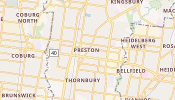 Preston - szczegółowa mapa Google