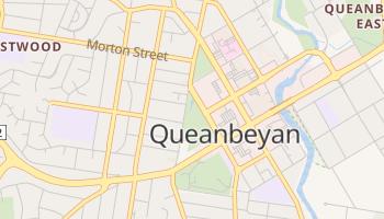 Queanbeyan - szczegółowa mapa Google