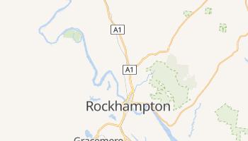 Rockhampton - szczegółowa mapa Google