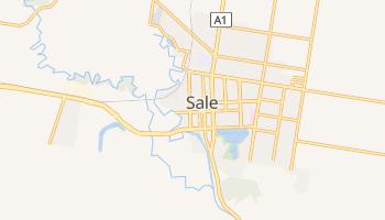 Sale - szczegółowa mapa Google