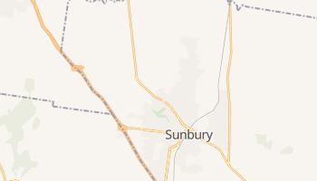 Sunbury - szczegółowa mapa Google