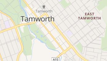 Tamworth - szczegółowa mapa Google