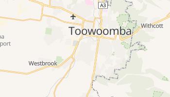 Toowoomba - szczegółowa mapa Google