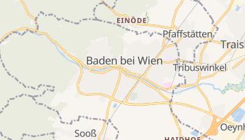 Badenia - szczegółowa mapa Google