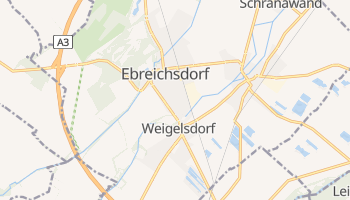Ebreichsdorf - szczegółowa mapa Google