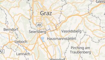 Graz - szczegółowa mapa Google